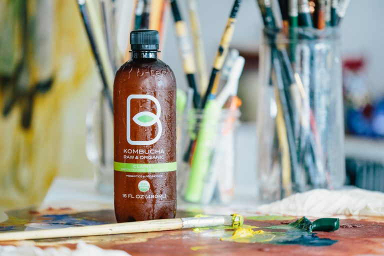 GETTING OVER ANXIETY WITH KOMBUCHA