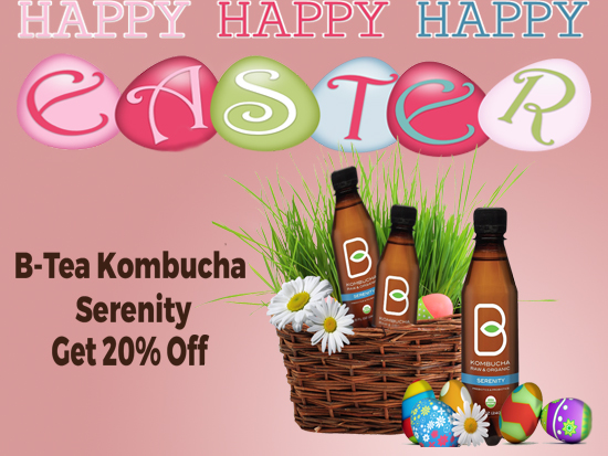 HAPPY EASTER FROM B-TEA