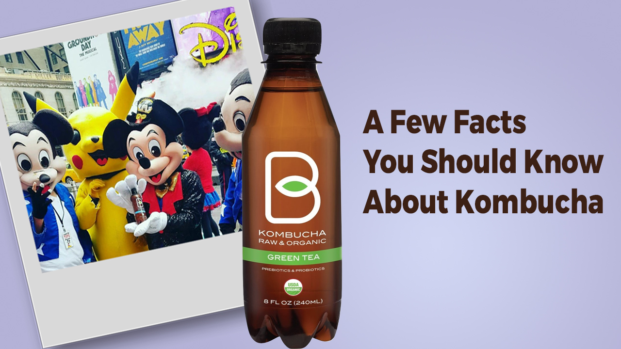 A FEW FACTS YOU SHOULD KNOW ABOUT KOMBUCHA