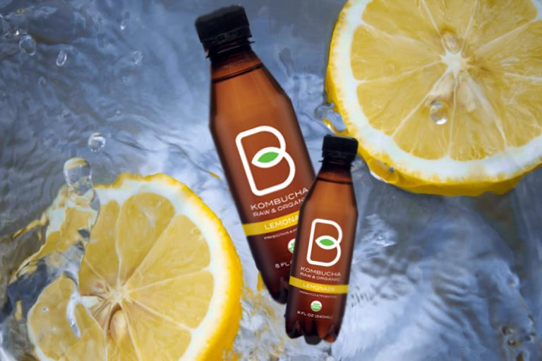 B-TEA RAW AND ORGANIC KOMBUCHA LEMONADE – DELICIOUS TASTE AND AMAZING BENEFICIAL FEATURES FOR YOUR HEALTH!